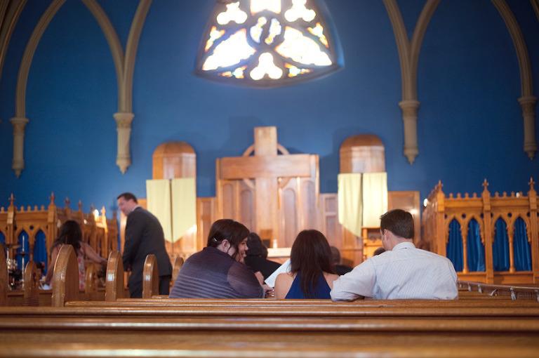 Church wedding in Chicago